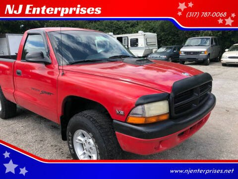 1997 Dodge Dakota for sale at NJ Enterprises in Indianapolis IN