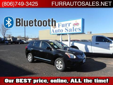 2013 Nissan Rogue for sale at FURR AUTO SALES in Lubbock TX