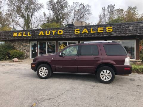 2007 Mercury Mountaineer for sale at BELL AUTO & TRUCK SALES in Fort Wayne IN