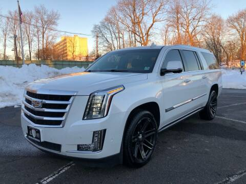 2017 Cadillac Escalade ESV for sale at Mula Auto Group in Somerville NJ