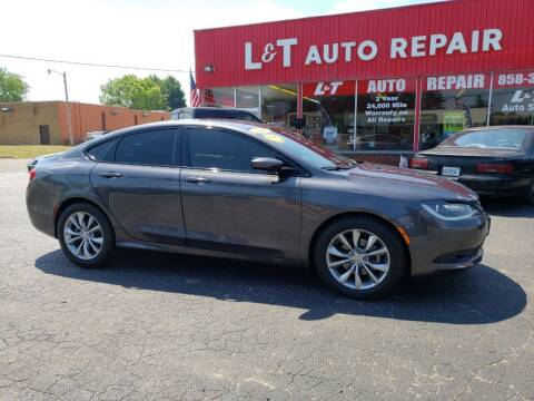2016 Chrysler 200 for sale at L&T Auto Sales in Three Rivers MI