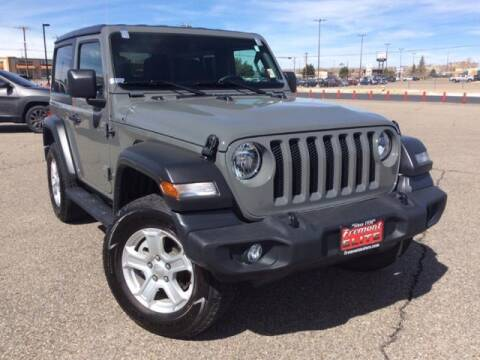 2020 Jeep Wrangler for sale at Rocky Mountain Commercial Trucks in Casper WY