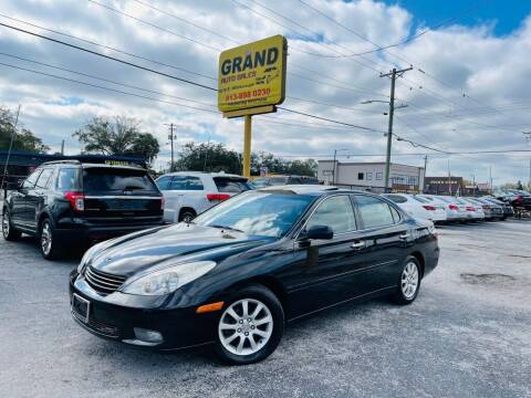 2002 Lexus ES 300 for sale at Grand Auto Sales in Tampa FL