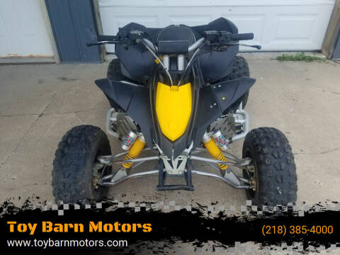 2010 Can-Am DS 90 X for sale at Toy Barn Motors in New York Mills MN