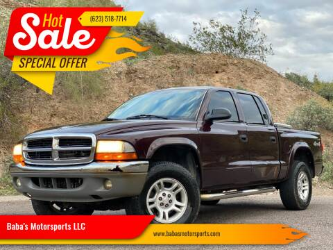 2004 Dodge Dakota for sale at Baba's Motorsports, LLC in Phoenix AZ