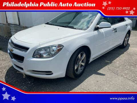 2012 Chevrolet Malibu for sale at Philadelphia Public Auto Auction in Philadelphia PA
