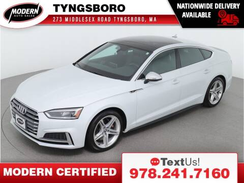2018 Audi S5 Sportback for sale at Modern Auto Sales in Tyngsboro MA
