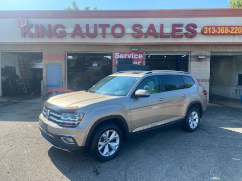2018 Volkswagen Atlas for sale at KING AUTO SALES  II in Detroit MI