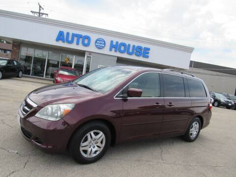 2007 Honda Odyssey for sale at Auto House Motors in Downers Grove IL