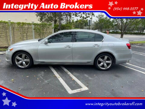 2007 Lexus GS 350 for sale at Integrity Auto Brokers in Pompano Beach FL