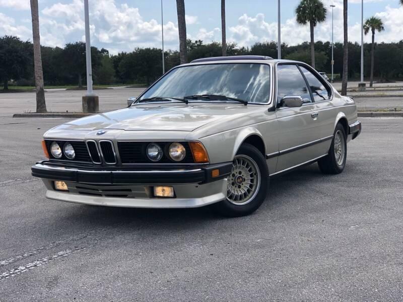 1987 BMW 6 Series for sale at Mycarsonline LLC in Sanford FL