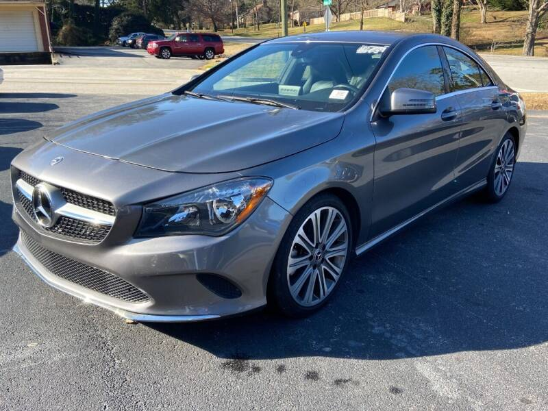 2018 Mercedes-Benz CLA for sale at Luxury Auto Innovations in Flowery Branch GA