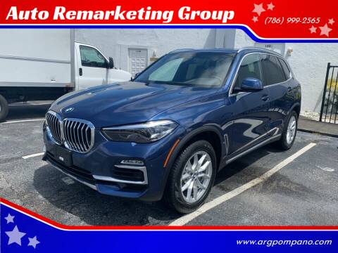 2019 BMW X5 for sale at Auto Remarketing Group in Pompano Beach FL