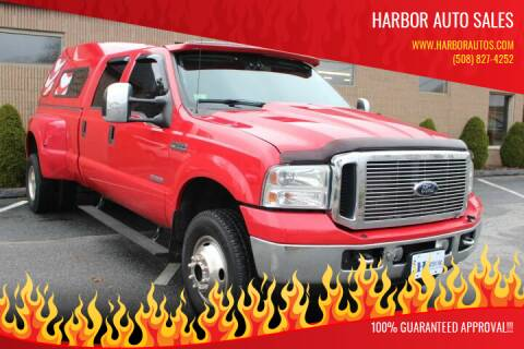 2006 Ford F-350 Super Duty for sale at Harbor Auto Sales in Hyannis MA