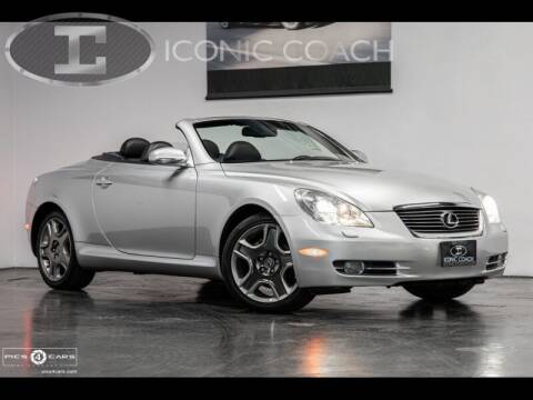 2006 Lexus SC 430 for sale at Iconic Coach in San Diego CA