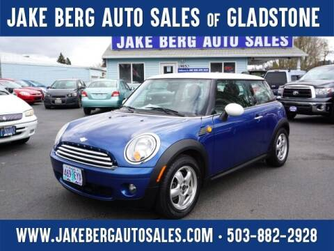 2007 MINI Cooper for sale at Jake Berg Auto Sales in Gladstone OR