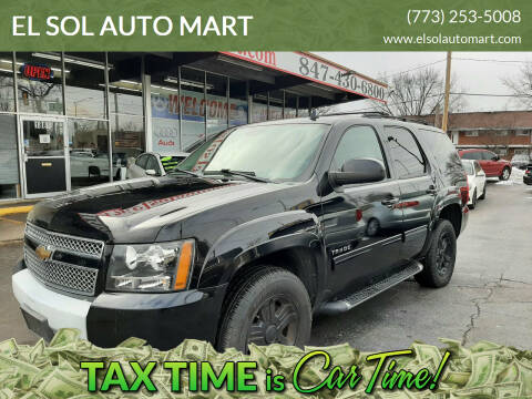 2011 Chevrolet Tahoe for sale at EL SOL AUTO MART in Franklin Park IL