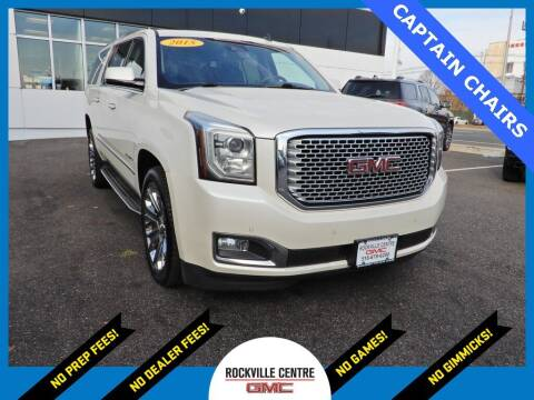 2015 GMC Yukon XL for sale at Rockville Centre GMC in Rockville Centre NY