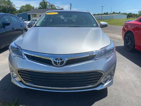 2015 Toyota Avalon for sale at BEST AUTO SALES in Russellville AR