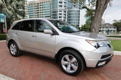 2012 Acura MDX for sale at Choice Auto in Fort Lauderdale FL