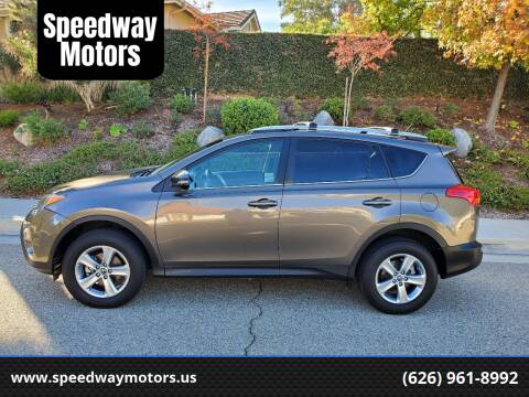 2015 Toyota RAV4 for sale at Speedway Motors in Glendora CA