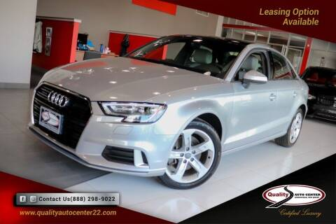 2017 Audi A3 for sale at Quality Auto Center in Springfield NJ