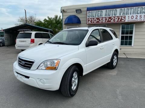 2008 Kia Sorento for sale at Silver Auto Partners in San Antonio TX