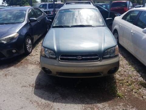 2000 Subaru Outback for sale at Webb's Automotive Inc 11 in Morehead City NC