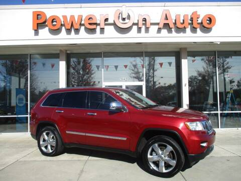2012 Jeep Grand Cherokee for sale at Power On Auto LLC in Monroe NC