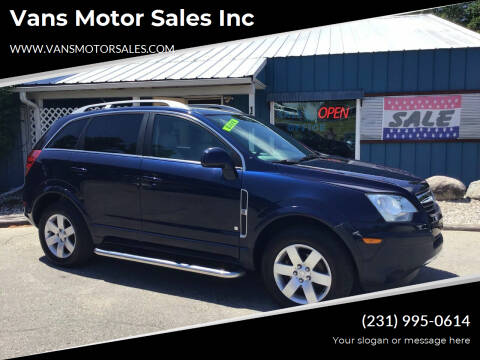 2008 Saturn Vue for sale at Vans Motor Sales Inc in Traverse City MI
