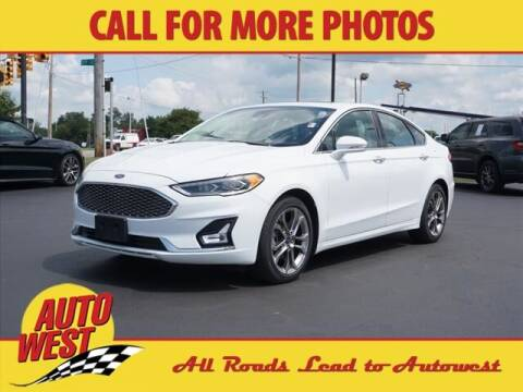 2020 Ford Fusion Hybrid for sale at Autowest of Plainwell in Plainwell MI