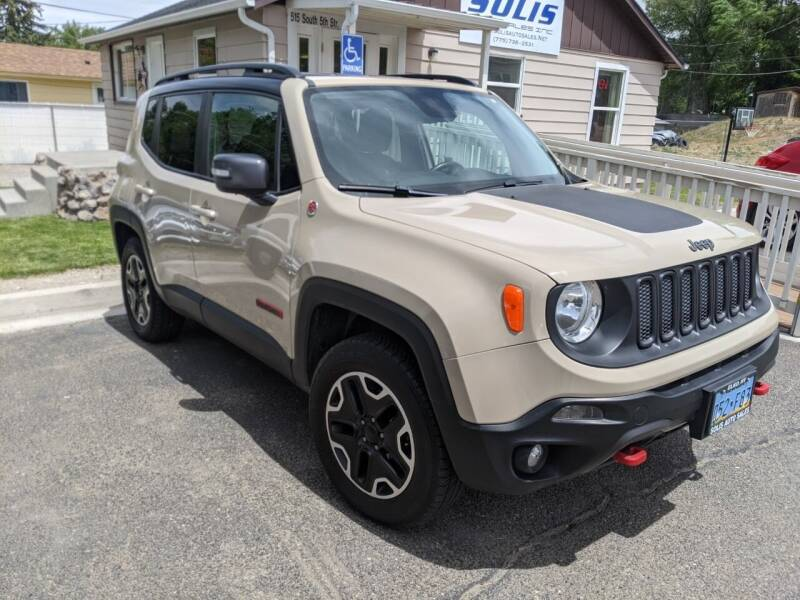 2016 Jeep Renegade for sale at SOLIS AUTO SALES INC in Elko NV