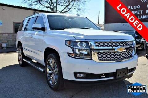 2017 Chevrolet Tahoe for sale at LAKESIDE MOTORS, INC. in Sachse TX