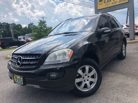 2007 Mercedes-Benz M-Class for sale at Carterra in Norfolk VA