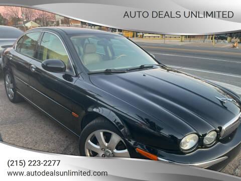 2004 Jaguar X-Type for sale at AUTO DEALS UNLIMITED in Philadelphia PA