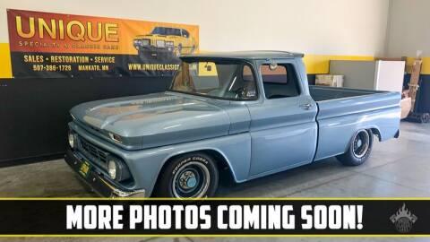 1963 Chevrolet C/K 10 Series for sale at UNIQUE SPECIALTY & CLASSICS in Mankato MN