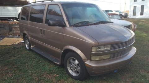 2003 Chevrolet Astro for sale at IMPORT MOTORSPORTS in Hickory NC