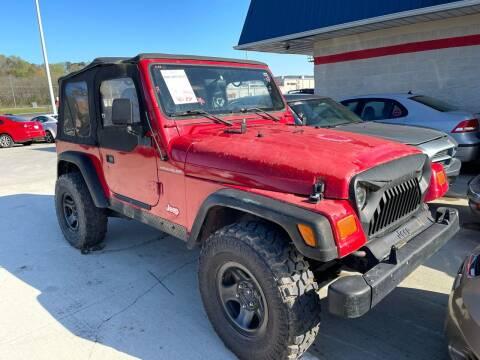 1997 Jeep Wrangler for sale at CarUnder10k in Dayton TN