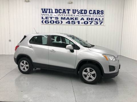 2016 Chevrolet Trax for sale at Wildcat Used Cars in Somerset KY