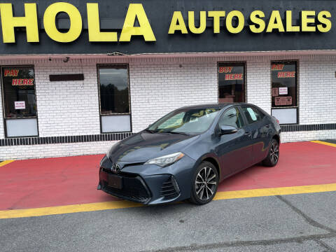 2019 Toyota Corolla for sale at HOLA AUTO SALES CHAMBLEE- BUY HERE PAY HERE - in Atlanta GA