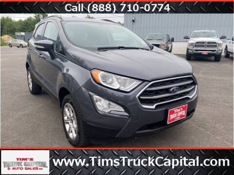 2018 Ford EcoSport for sale at TTC AUTO OUTLET/TIM'S TRUCK CAPITAL & AUTO SALES INC ANNEX in Epsom NH