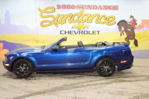 2005 Ford Mustang for sale at Sundance Chevrolet in Grand Ledge MI