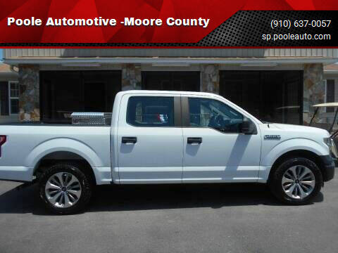 2016 Ford F-150 for sale at Poole Automotive -Moore County in Aberdeen NC