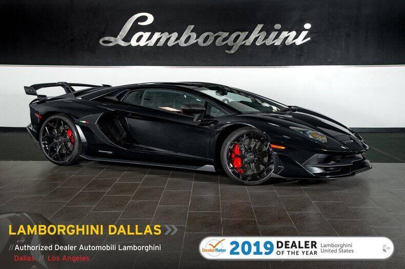 2019 Lamborghini Aventador for sale in Richardson, TX