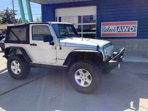 2010 Jeep Wrangler for sale at Select AWD in Provo UT