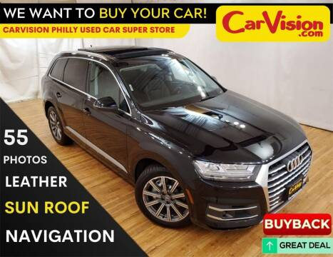 2018 Audi Q7 for sale at Car Vision Mitsubishi Norristown - Car Vision Philly Used Car SuperStore in Philadelphia PA