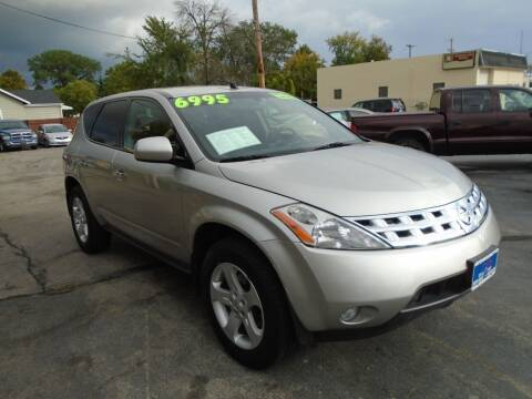 2005 Nissan Murano for sale at DISCOVER AUTO SALES in Racine WI