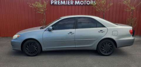 2006 Toyota Camry for sale at PREMIERMOTORS  INC. in Milton Freewater OR