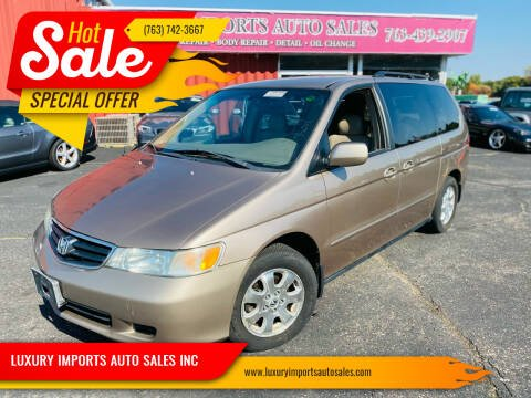 2003 Honda Odyssey for sale at LUXURY IMPORTS AUTO SALES INC in North Branch MN