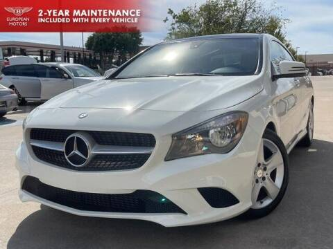 2016 Mercedes-Benz CLA for sale at European Motors Inc in Plano TX